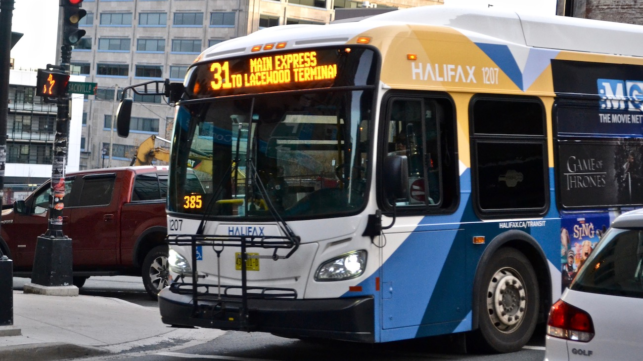 All Halifax buses will be upgrades before the end of March.