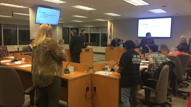 The Halifax Regional School Board met on Wednesday night.