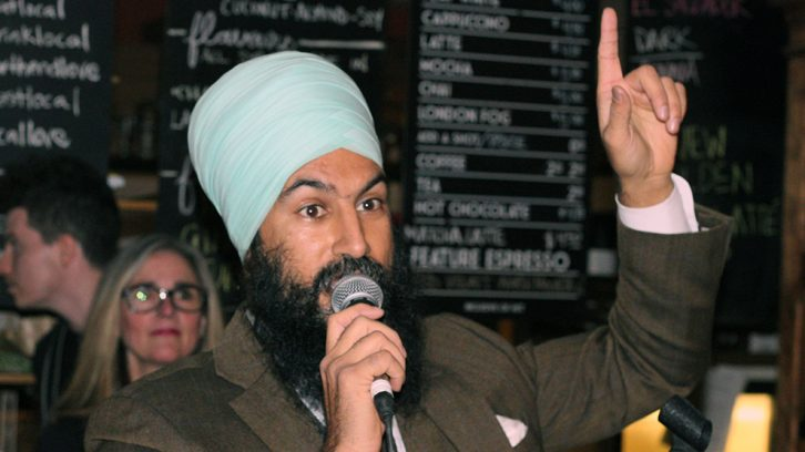 Singh makes his first Halifax stop after being elected NDP leader.