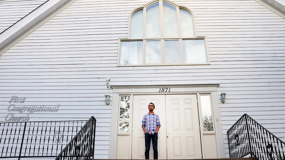 Raunaq Kainth joined the First Congregational Church when he came from India to study at Dalhousie University.