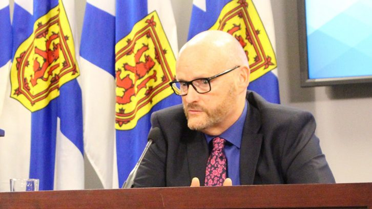 Auditor General Michael Pickup announces the findings of his report on mental health