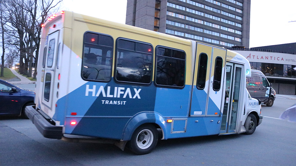 A Halifax paratransit bus.