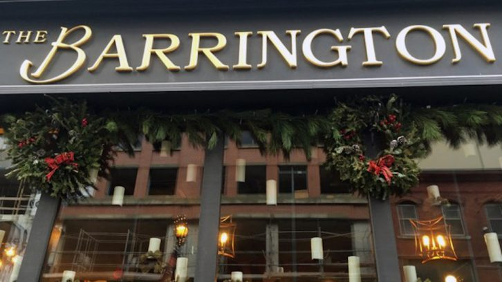The Barrington Steakhouse and Oyster Bar is one of a few locations in Halifax with a legacy room.