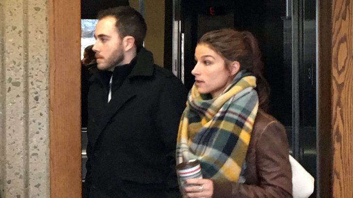 Christopher Calvin Garnier and girlfriend Brittany Francis walked into the courtroom together on Monday