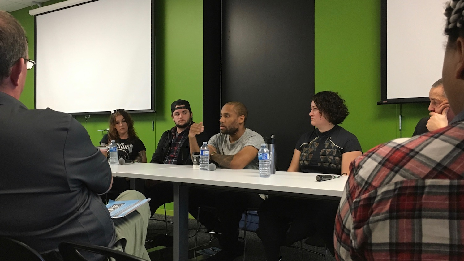 Panelist, Tyler Simmonds discusses the short film he made about his own depression.