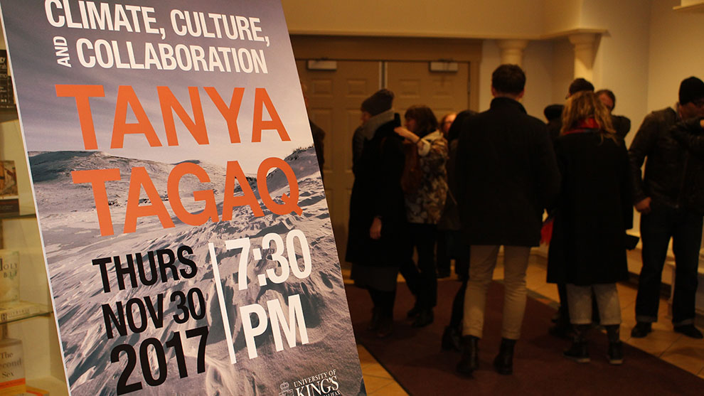 Inuit throat singer Tanya Tagaq was the 2017 Alex Fountain Memorial lecturer