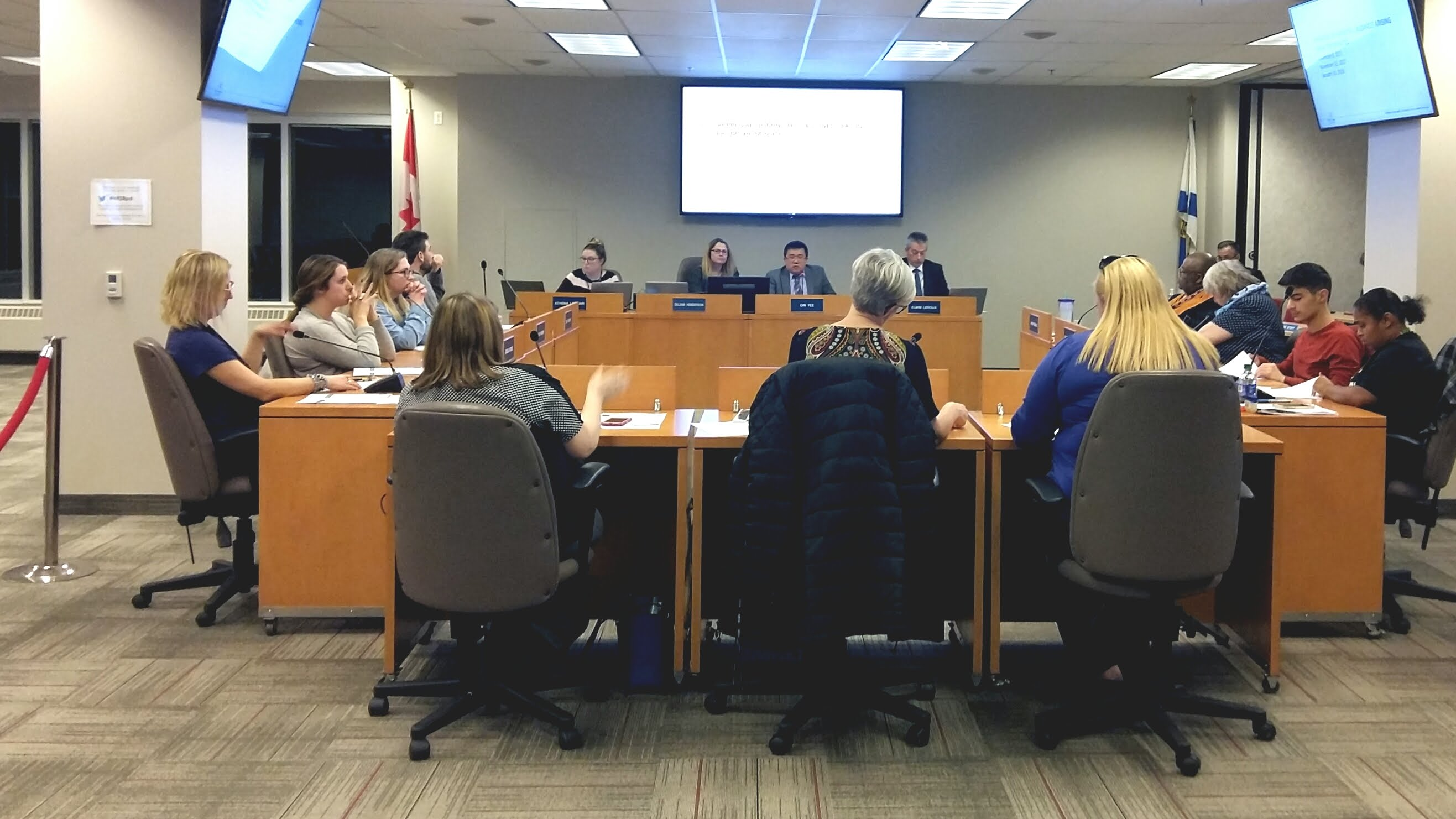 HRSB held its first meeting after the announcement of school boards dissolution on Wednesday