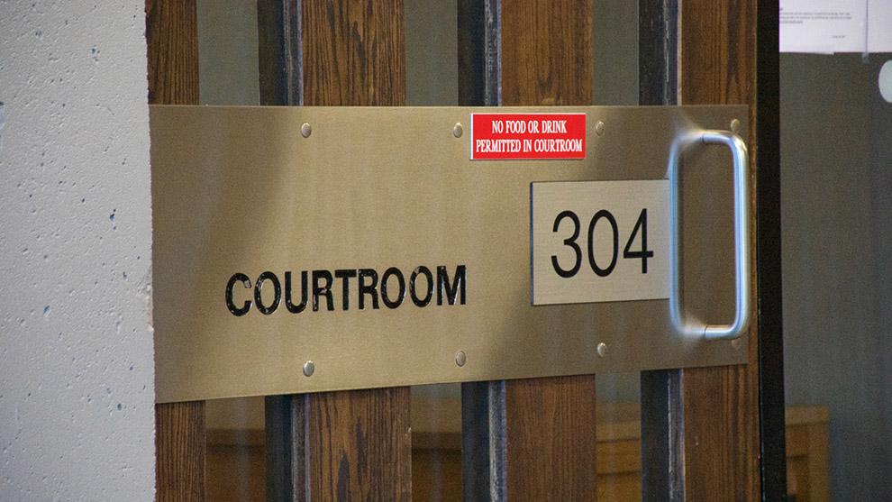 Court room 304 in the Nova Scotia Supreme Court where Benjamin Gillis' sentencing took place.