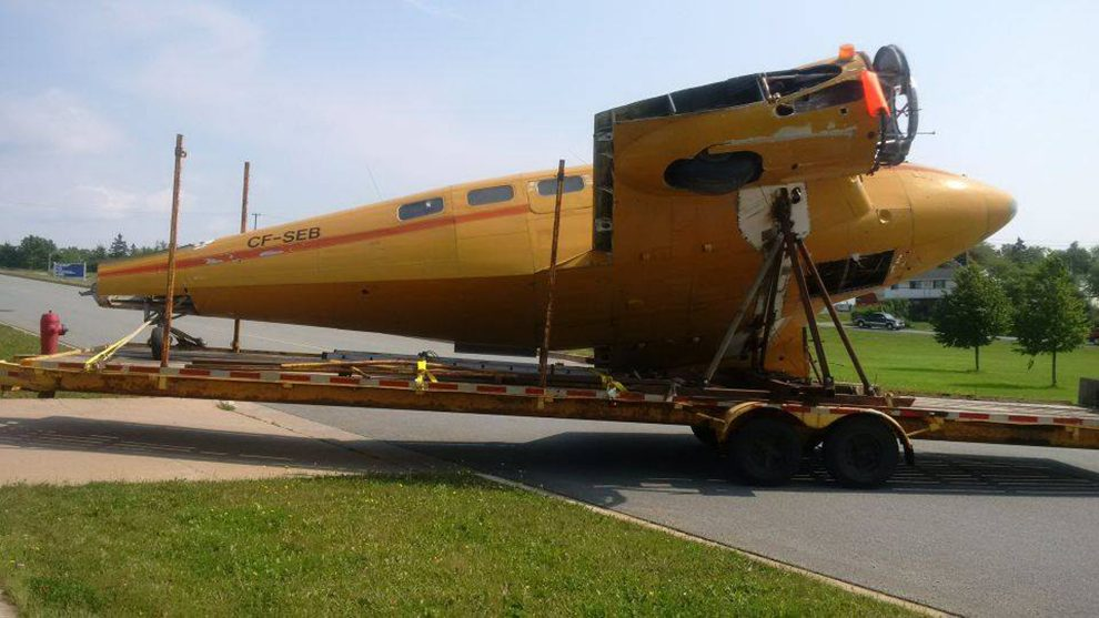 Shearwater Aviation Museum restores a piece of their history