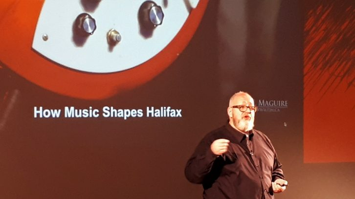 Jeffrey Haggett gives a TEDx Talk on how music shapes Halifax.