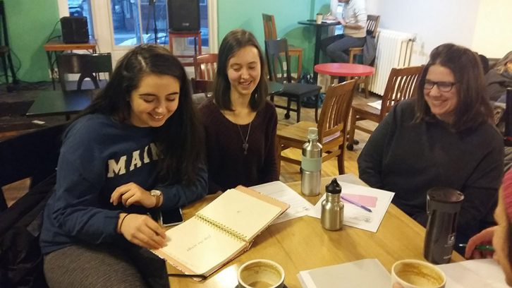 Qendresa Sahiti, Kathleen Cairns and Alexis Leonard are planning the first Concussion Cafe