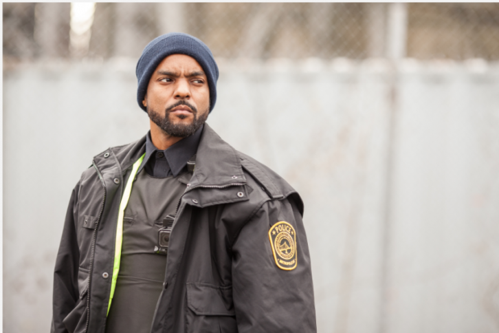 A production still from Black Cop