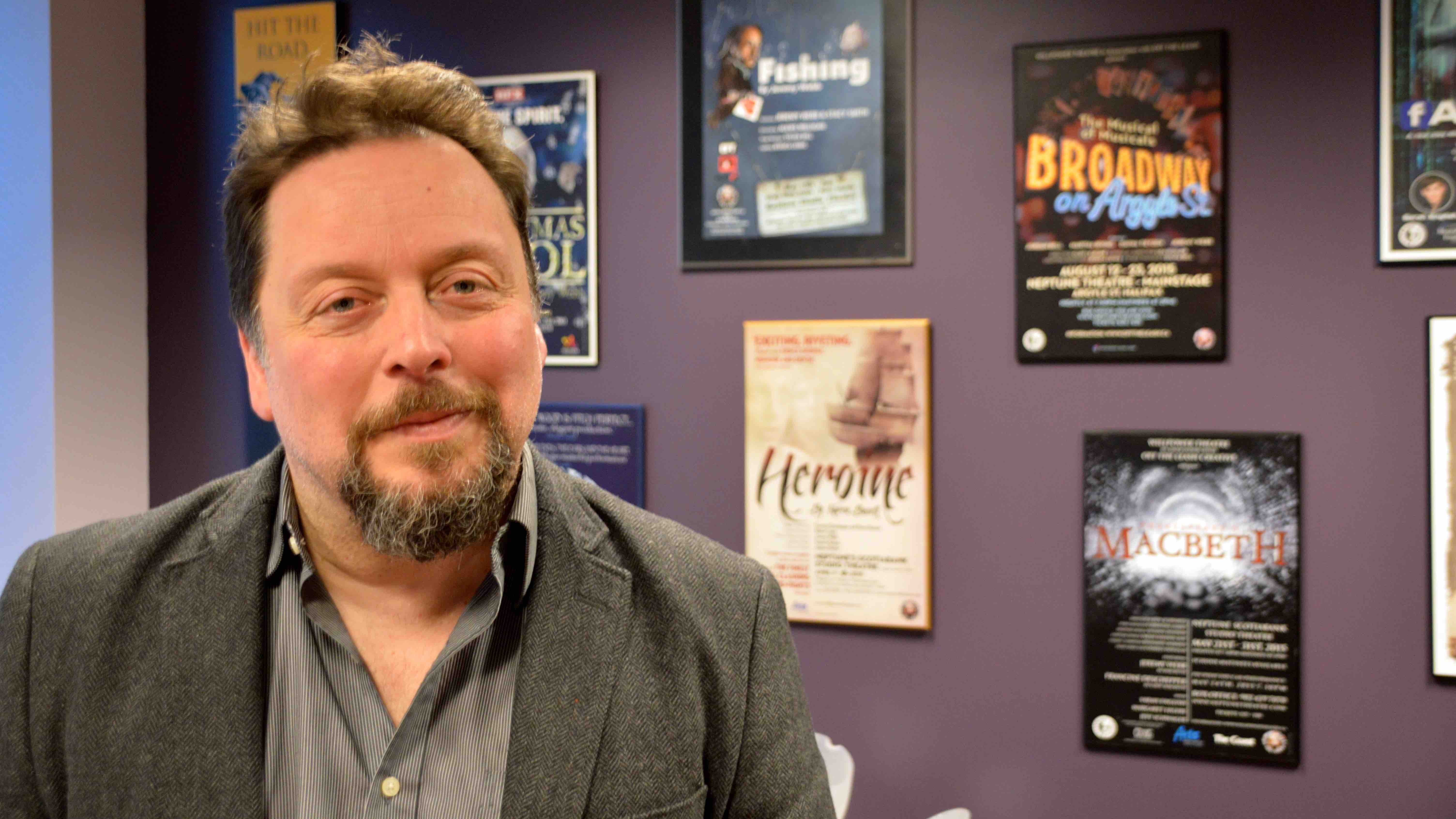 Jeremy Webb, artistic director of Neptune Theatre.