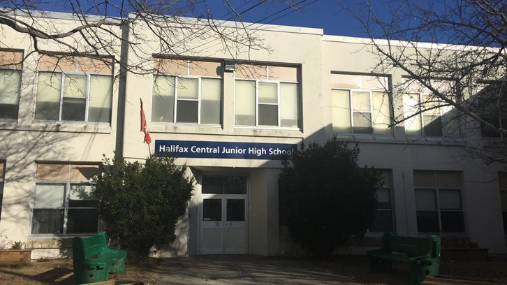 Halifax Central Junior High is one of the seven schools set to become accessible.