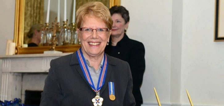 Hetty van Gurp received the Order of Nova Scotia in 2013.