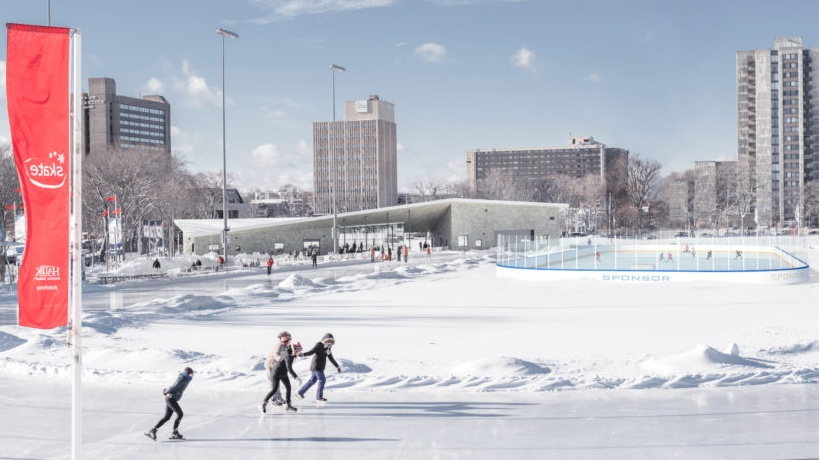 Hockey on the Halifax Oval volunteer Tyler Reynolds designed this image of what they'd like to see.