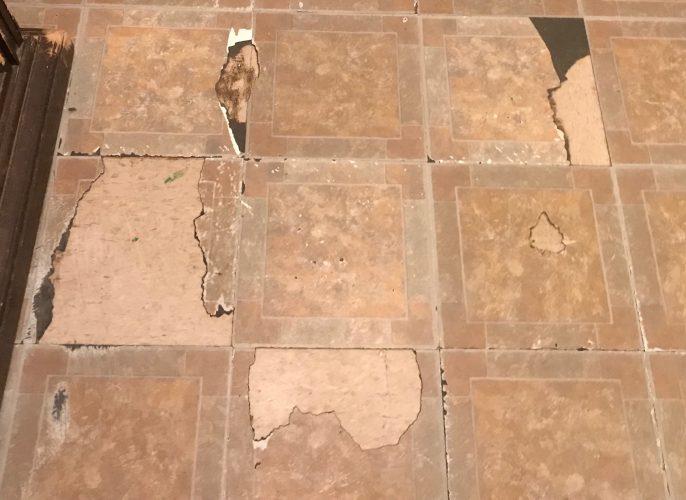 Unfinished floors