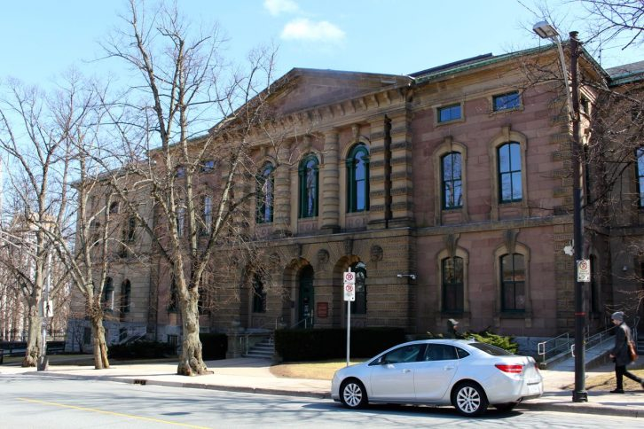 The Halifax Provincial Court House