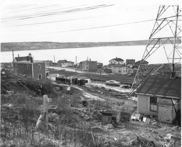 Africville, a black community in Halifax, was destroyed by the city. The mayor apologized for this in 2010. (Photo taken in 1965.)