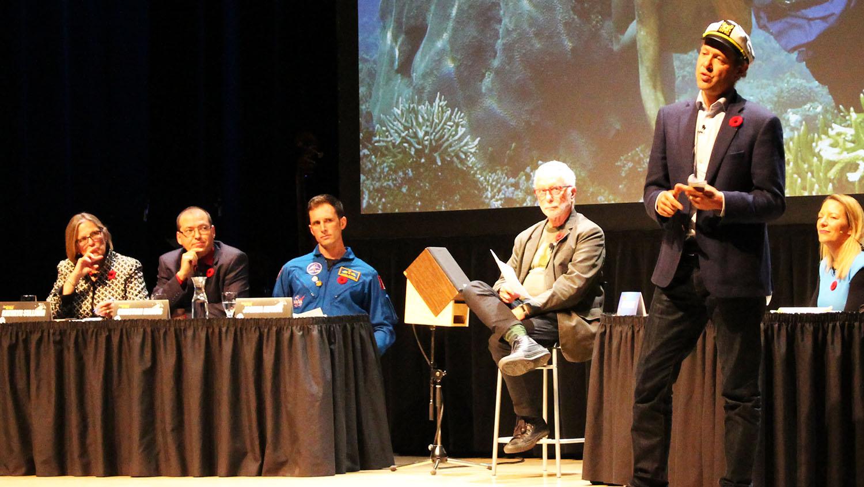 Dalhousie marine ecologist Boris Worm debates for Team Ocean