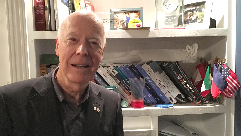 Dr. Ron Stewart brought EHS to Nova Scotia.