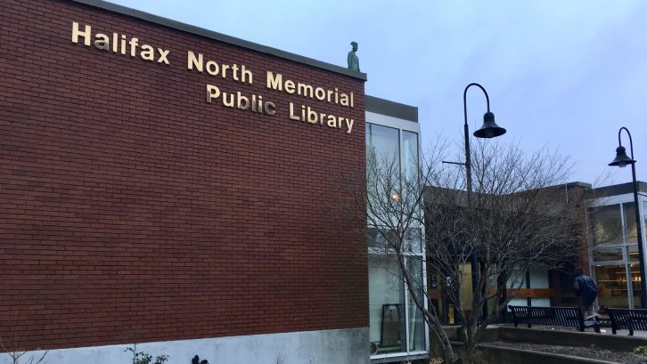 The Halifax North Memorial Public Library, where Friday's event will be held.