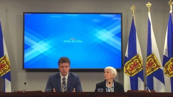 Minister Iain Rankin and Deputy Minister Julie Towers answer questions about Nova Scotia's response to the Lahey report.