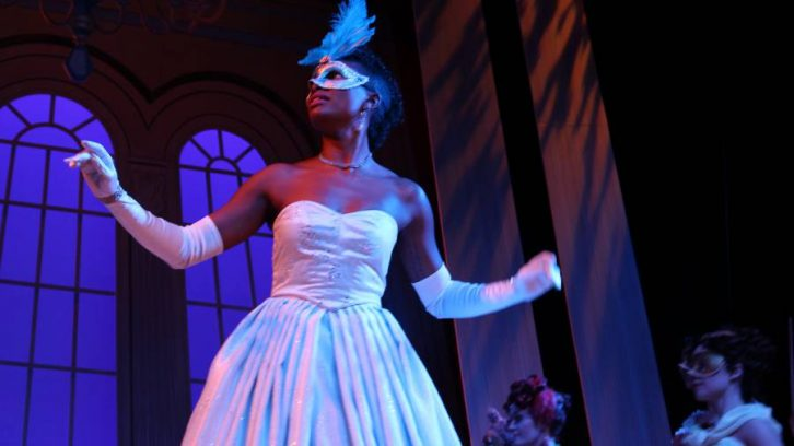 Samantha Walkes portrays Cinderella at Neptune Theatre during a media call on Nov. 27.