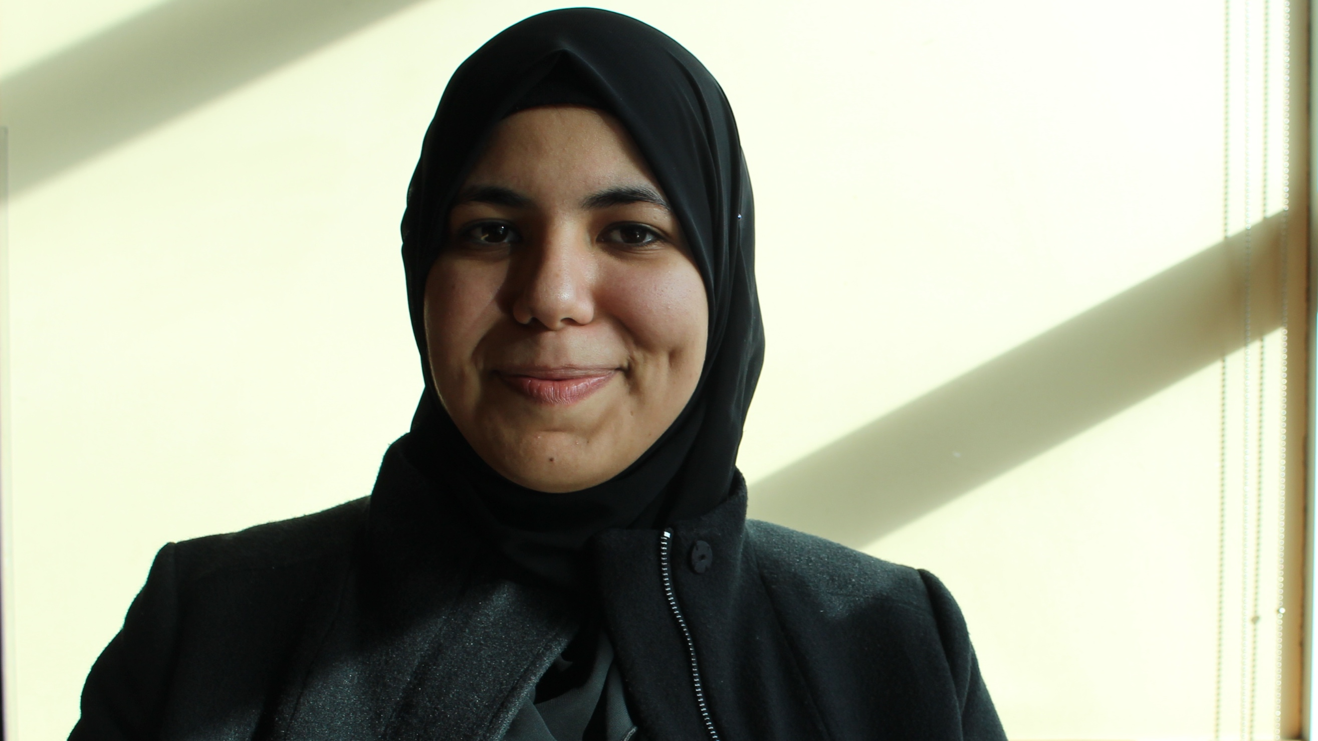 Duaa AlMasalmeh says it's difficult for newcomers to find jobs.