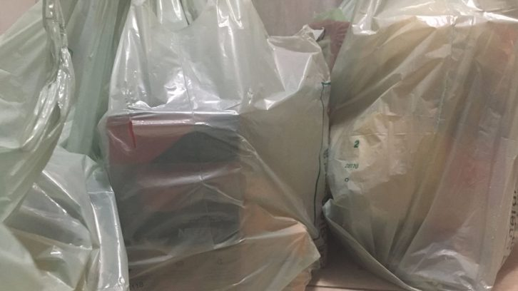 Single-use plastic bags make up one per cent of total material received at the HRM's Materials Recycling Facility.