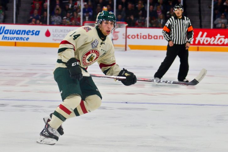 Defenceman Jared McIsaac will be trying to make the Canadian World Junior team.