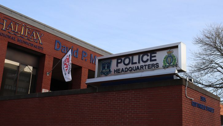 Halifax board of police commissioners discussed changes to the force at a meeting Monday.
