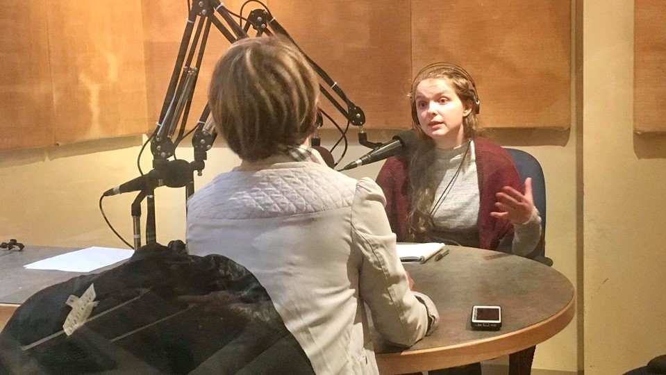 Host Jessica Briand talks to guest Ally Garber about living with mental illness.