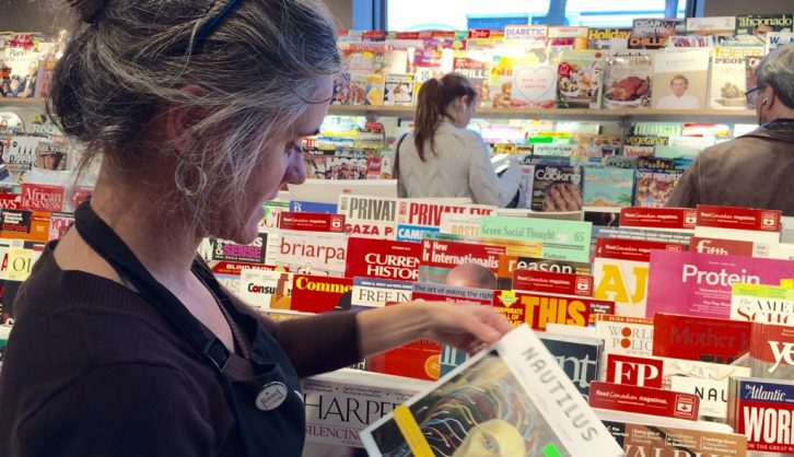Next issue is betting that a newsstand can translate to the digital world. Will it pay off?