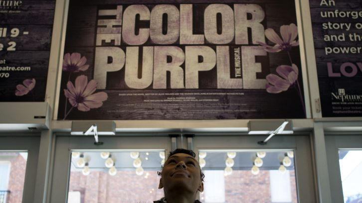 Lyris Daye, 17, will be the youngest cast member in Neptune Theatre's upcoming production of The Color Purple.