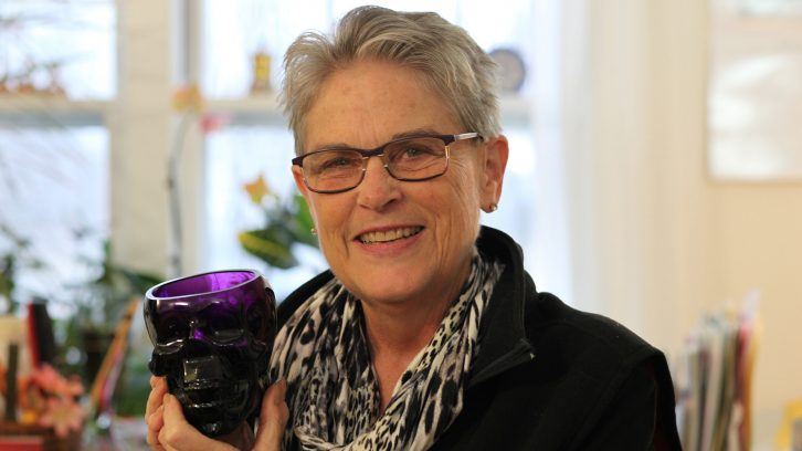 Deborah Luscomb hosted the first Death Cafe in Halifax in March 2015.