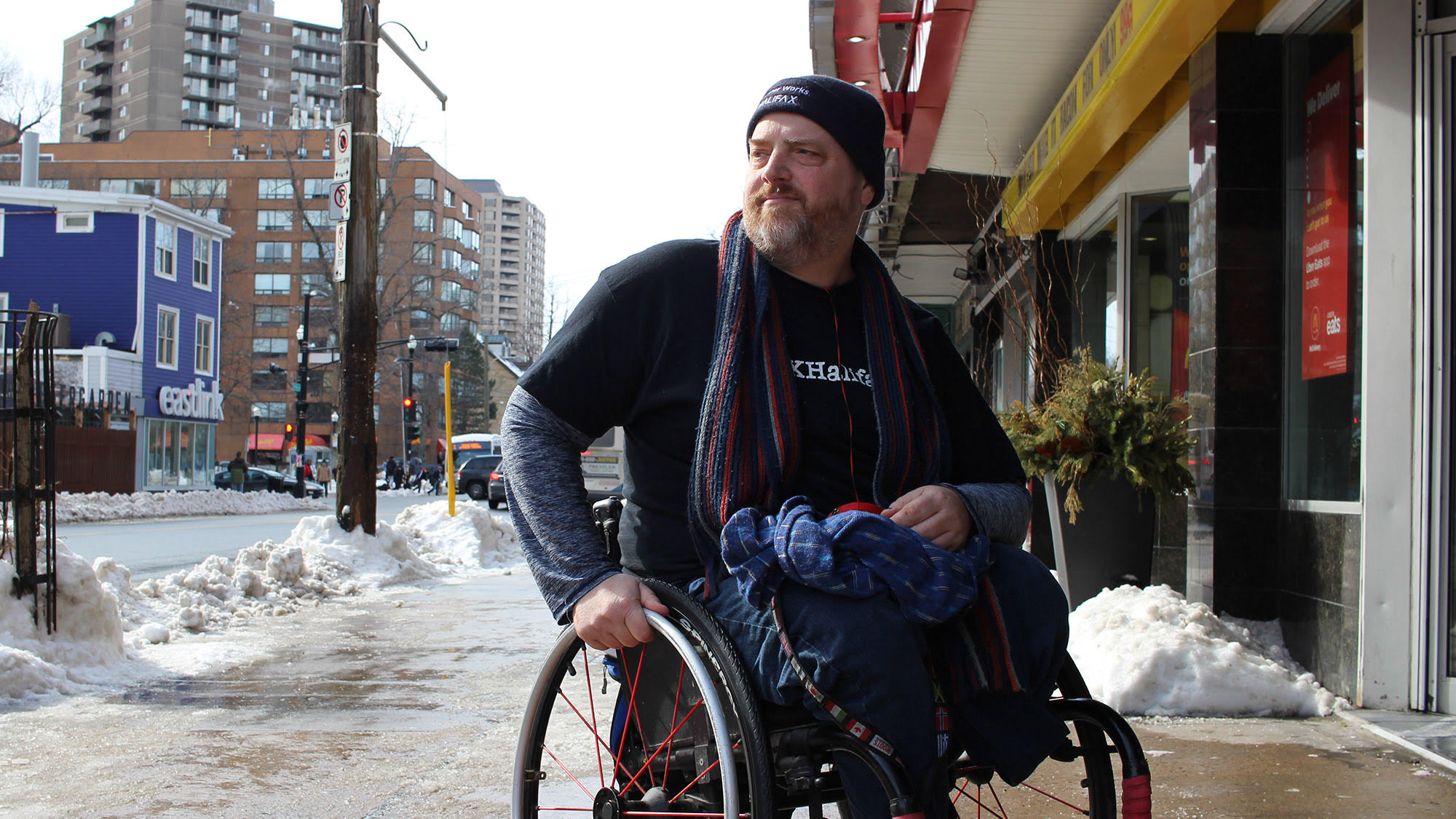 Disabilities advocate Paul Vienneau is now an employee of the HRM.