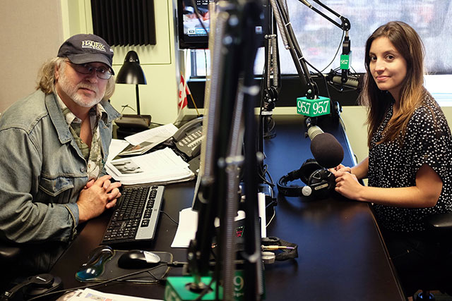 Rick Howe and Melissa Mancini entered the radio business 35 years apart, but find common ground and learn from each other while working on the Rick Howe Show at News 95.7 in Halifax.