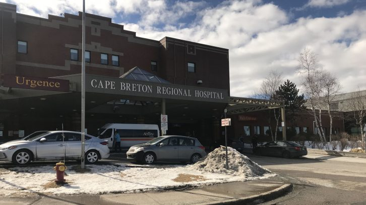 Cape Breton Regional Hospital where after his second trip, MacNeil finally got emergency help.