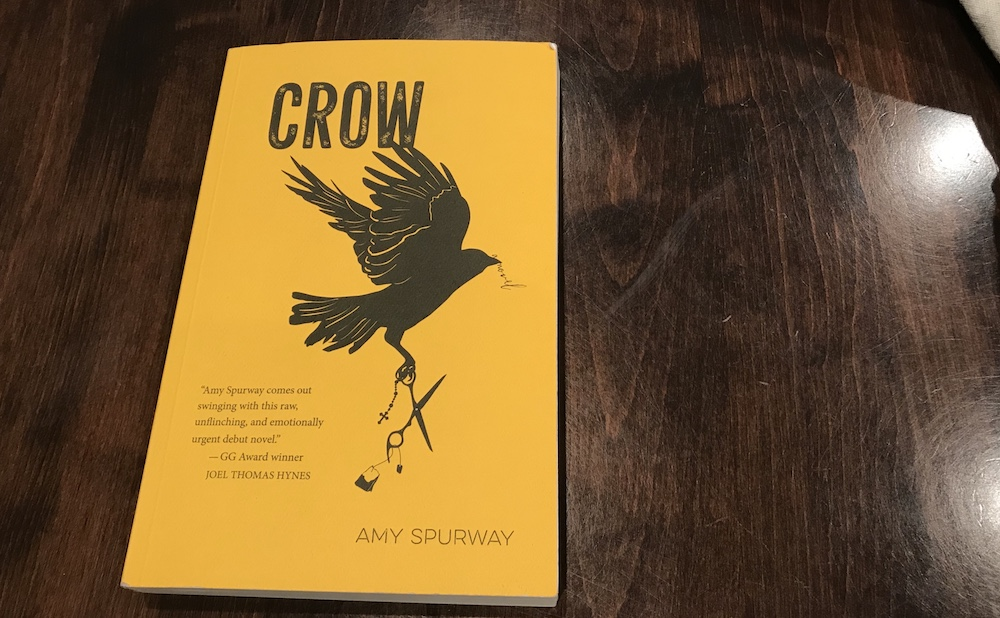 Crow is Amy Spurway's first novel.