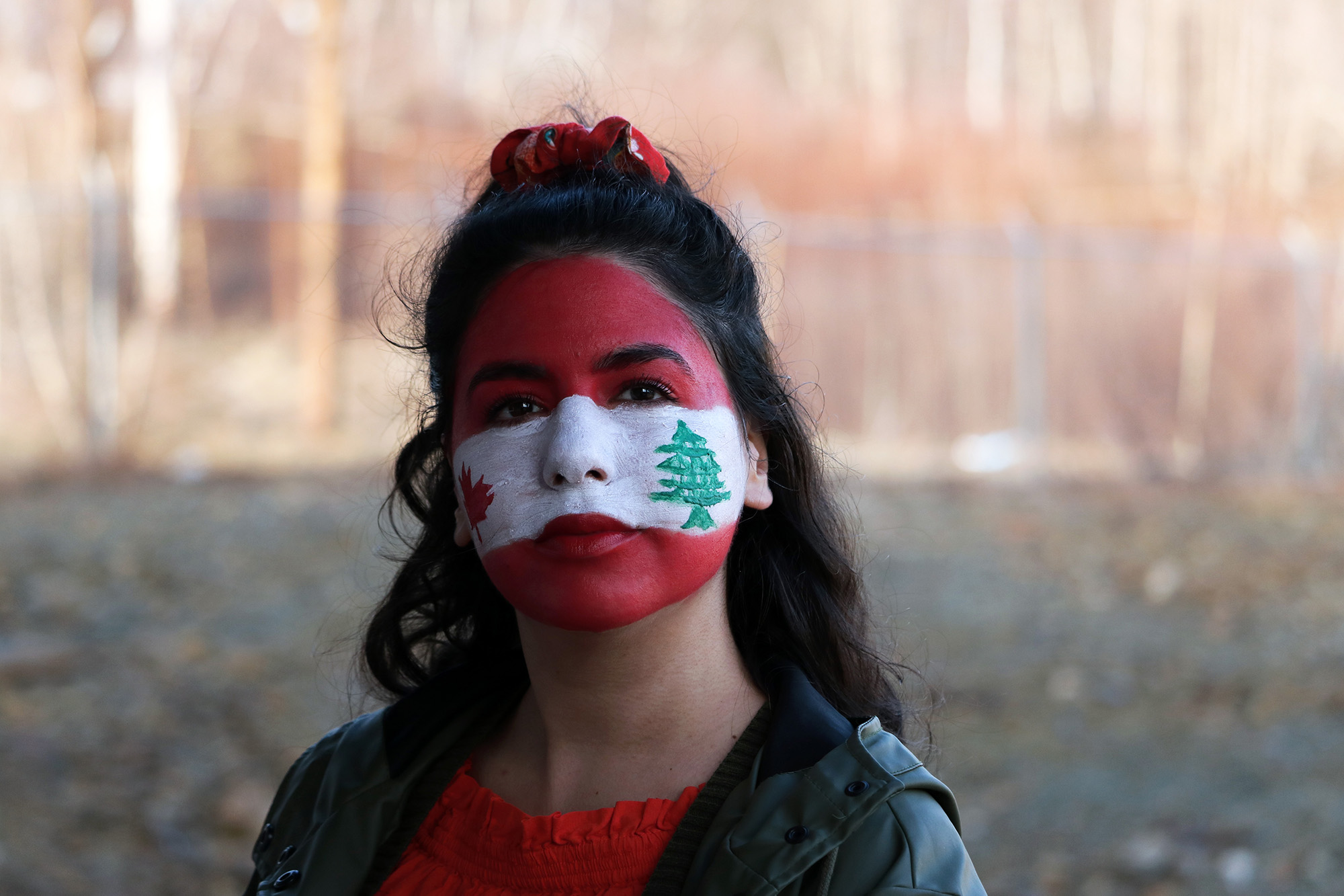 Fadila Chater embraces both cultures, Canadian and Lebanese.