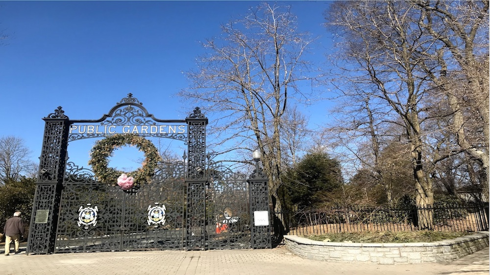 The Halifax Public Gardens is a national historic site.