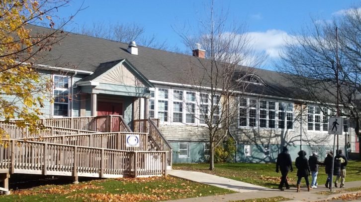 The Findlay Community Centre, 26 Elliot St., in Dartmouth, provides services in a historic context.