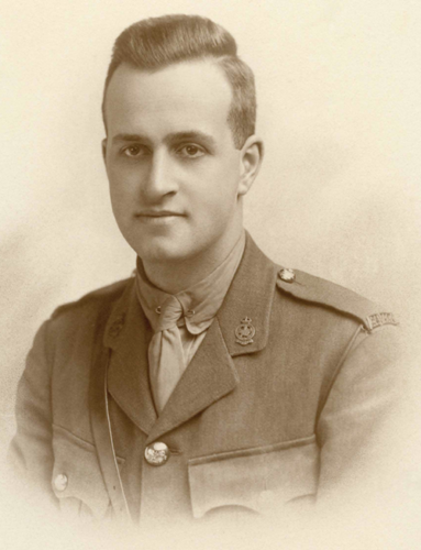 Lt. Walter Pickup in an undated historical photo.