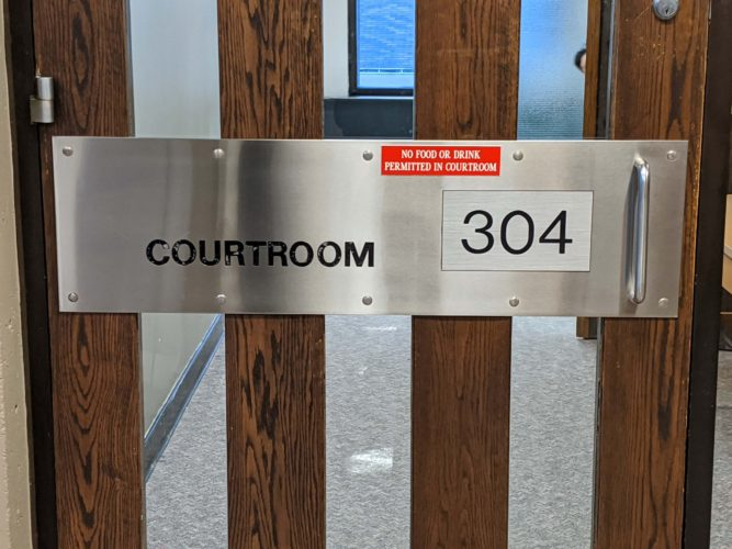 The trial of Calvin Sparks and Samanda Ritch continues in Courtroom 304.