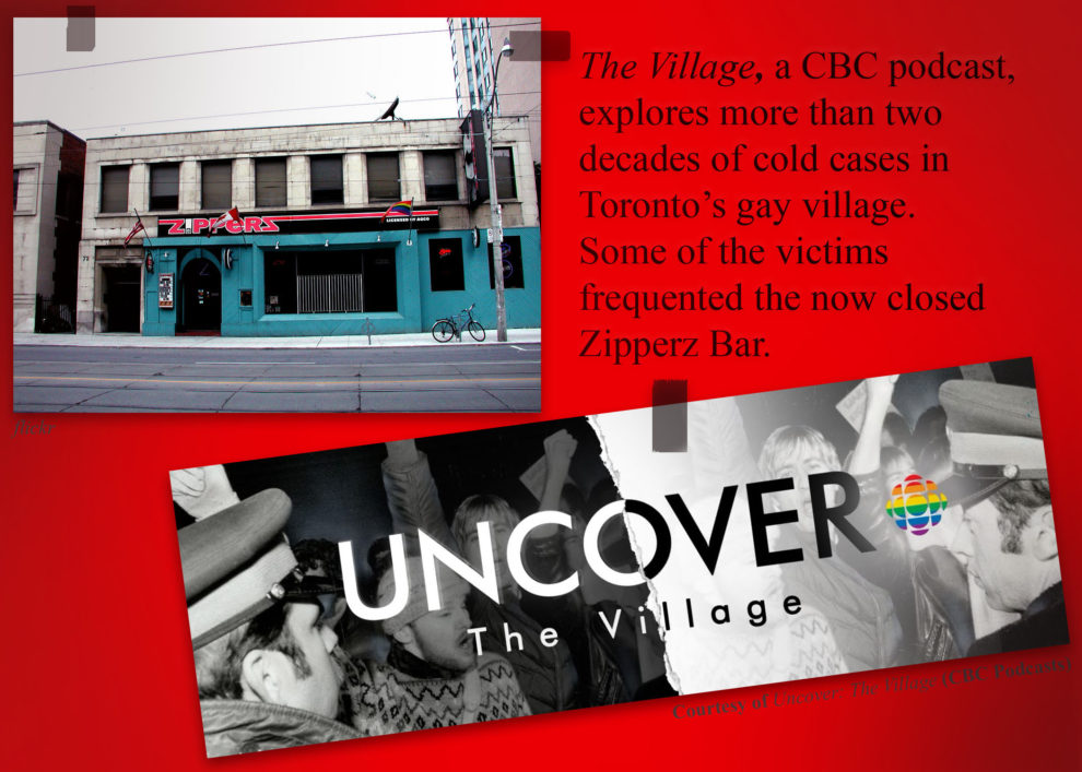 Uncover podcast is seen in this photo illustration.