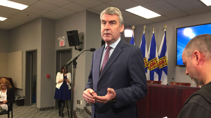 Premier Stephen McNeil says he'd like to have direct flights from China to be a regular thing.