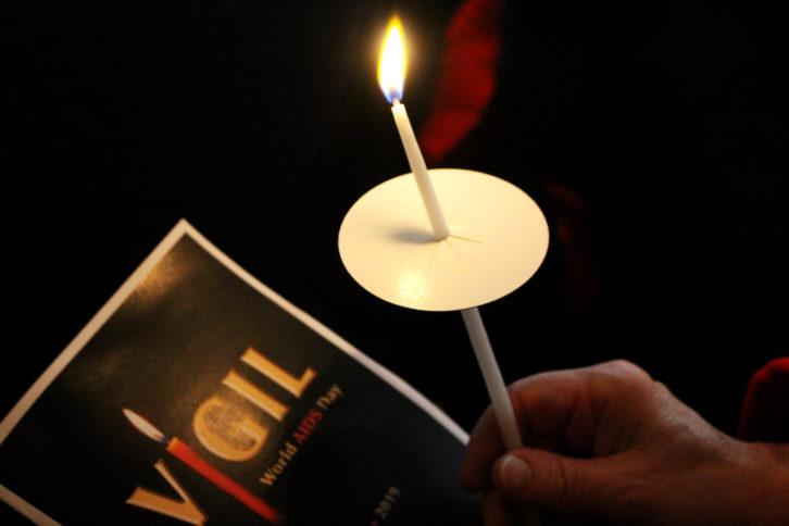 ACNS held its annual World AIDS Day Vigil to remember those who died.
