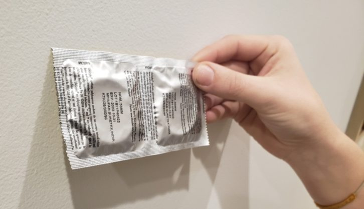 Health officials say condoms, dental dams and other sexual health products are key to preventing STIs like syphilis.