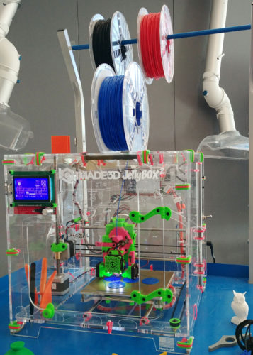 3D printing is one of the activities people can try out at the Lou Duggan Creative Studio